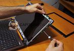 Comment changer une dalle LED défectueuse de PC Portable ?