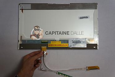 Branchement de la nappe sur le connecteur LED 40 pins